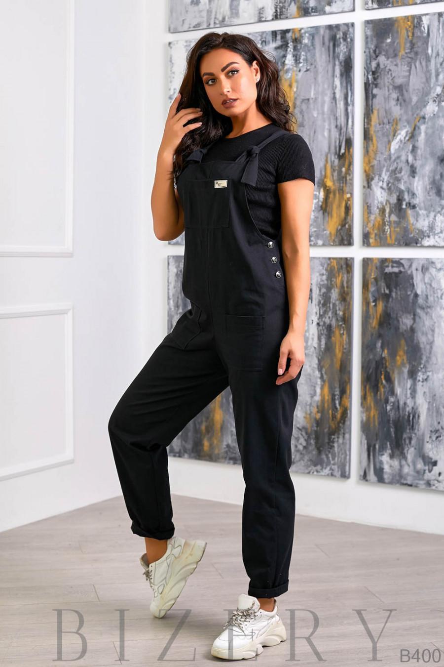 Стильный джинсовый комбинезон B400