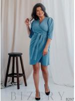 Коктейльное платье футляр большого размера B297