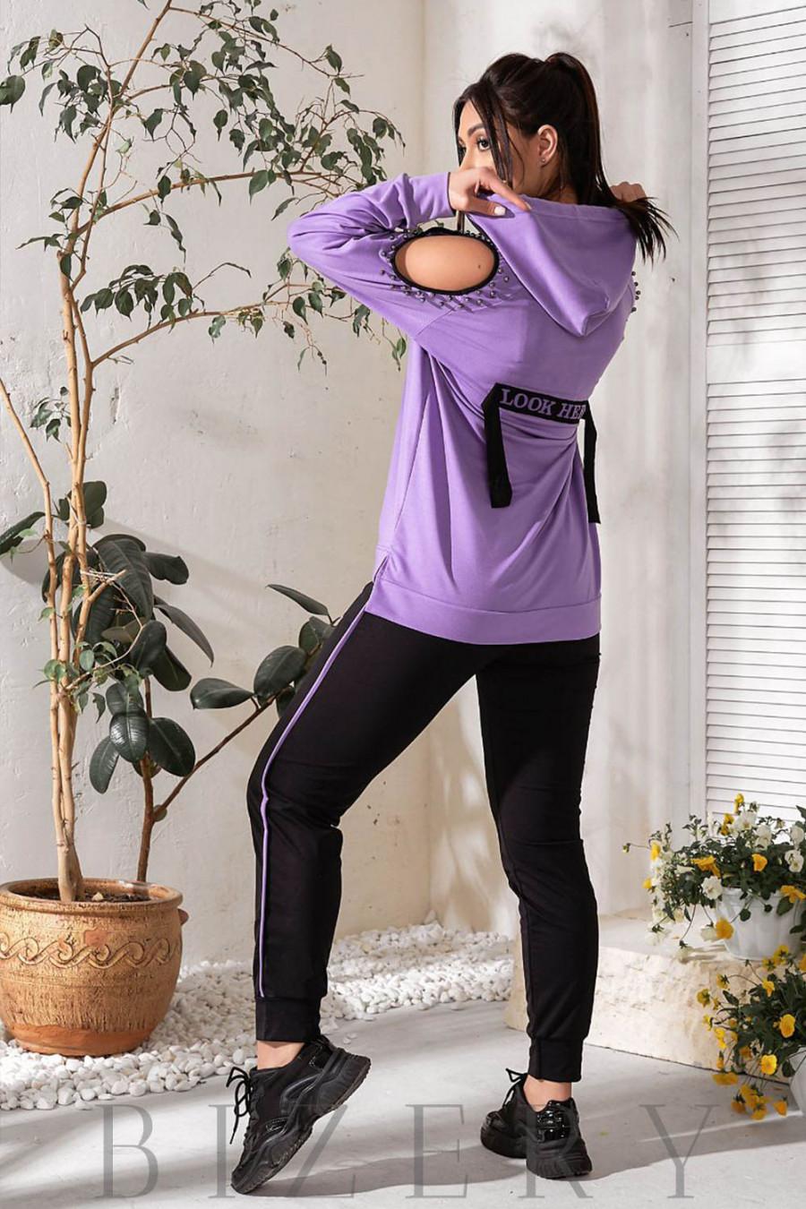 Спортивный костюм с открытыми плечиками В748