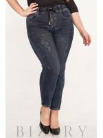 Женские джинсы plus size В636