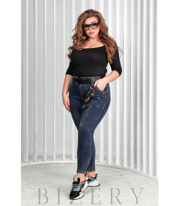 Стильные стрейчевые джинсы В647