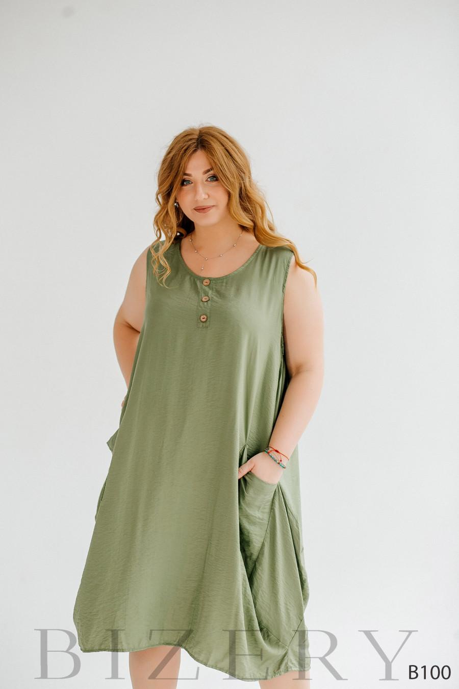 Очень лёгкое и комфортное платье свободного кроя миди