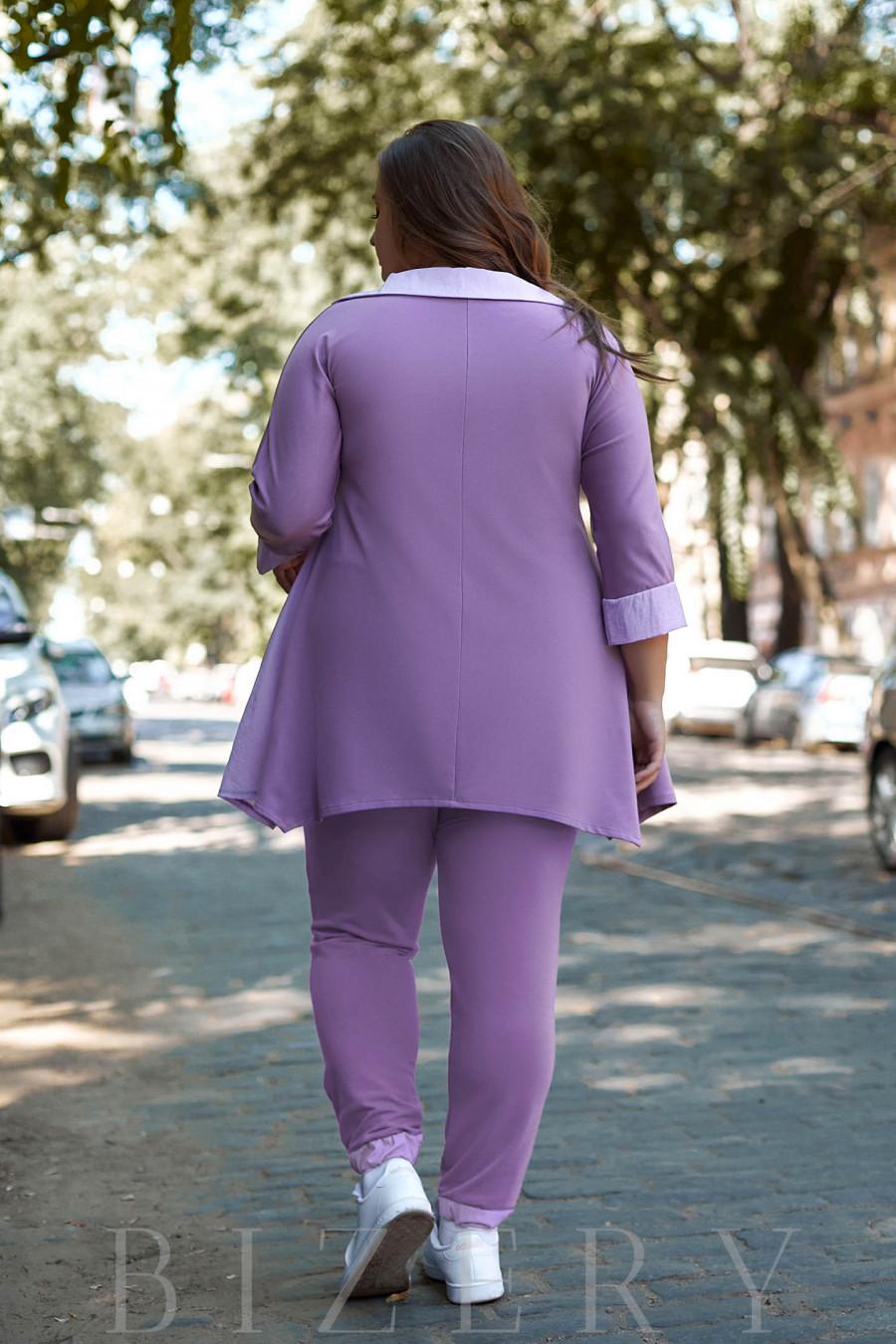 Женский костюм в лавандовом цвете B1089