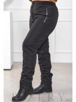 Зимние женские брюки плащёвка B452