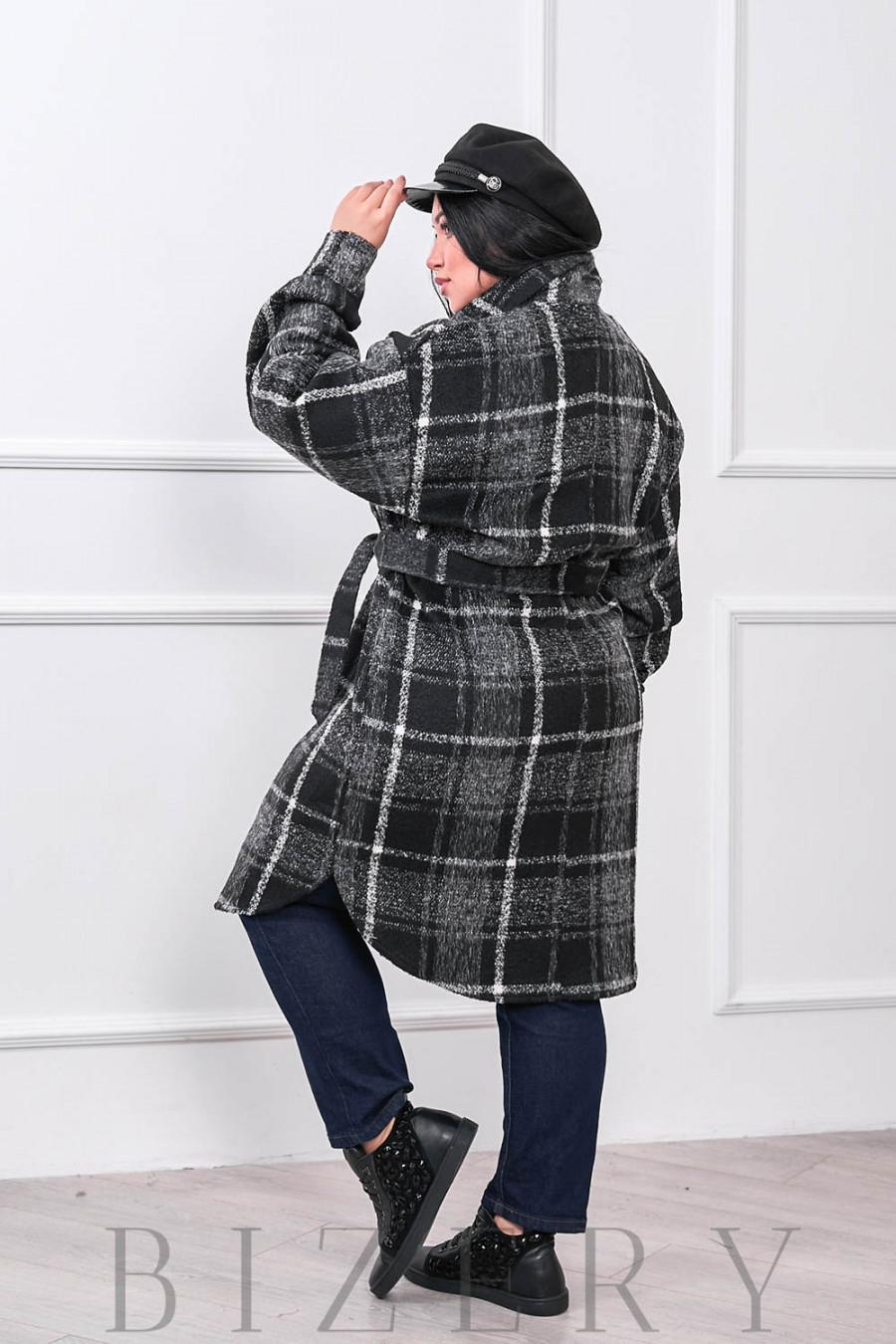 Кашемировое пальто-рубашка В675