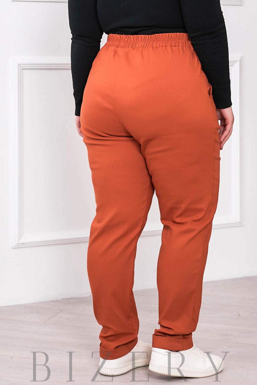 Стрейчевые брюки В679