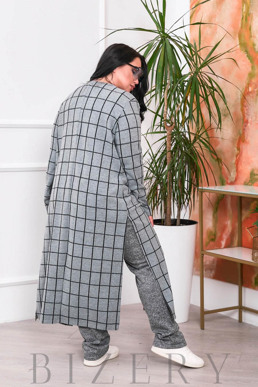 Шикарный костюм тройка В687