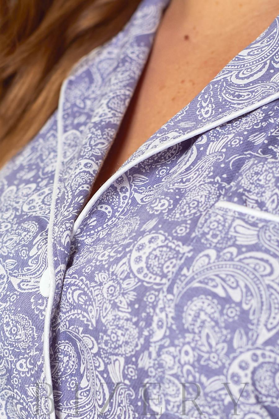 Стильный домашний комплект светло-фиолетовый В628