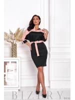 Платье пудровой расцветки B416